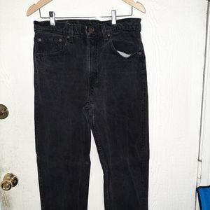 Black Levi Jean's 555 w33 l32